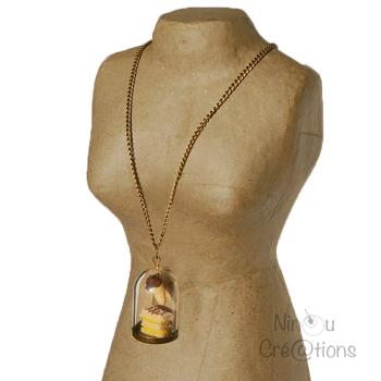 Gourmet Dome Long necklace