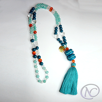 boho gourmand Long necklace