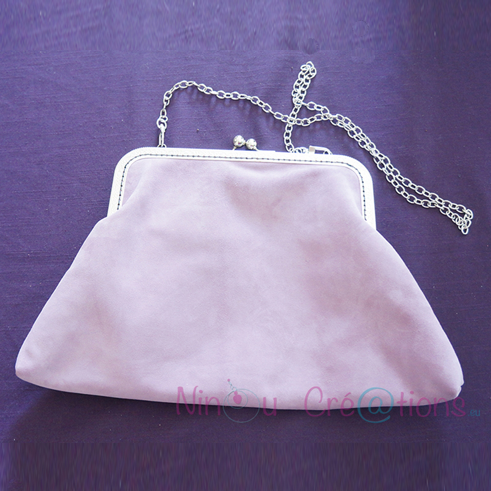 Tutorial : Metal Frame Purse, very easy